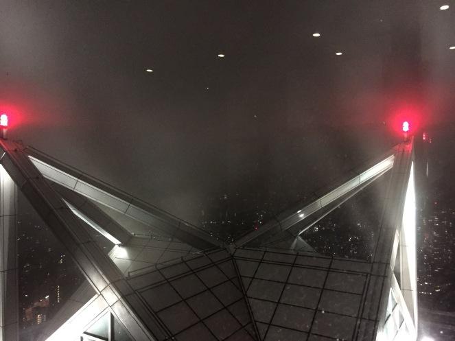 Bisschen Berghüttenfeeling mit dem Nebel...