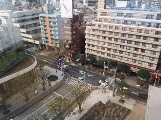 Morgen auf Roppongi Hill.