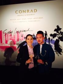 Der Chinese aus Shanghai trifft die Schweizerin aus Singapur in Tokio wieder.